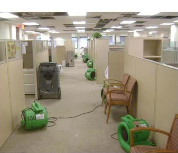 Commercial Water Damage – Burnsville Offices After