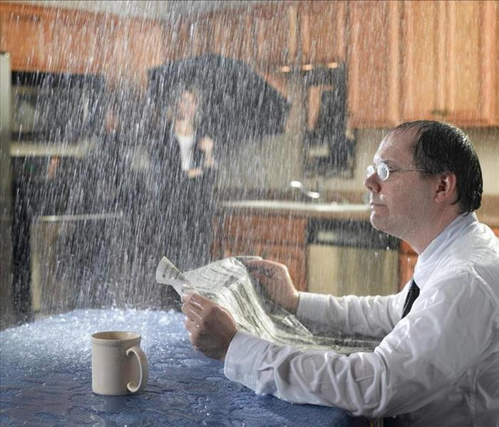 Water Damage Water Damage in a Farmington Home Affects Your Belongings